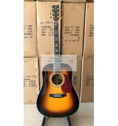 Custom Martin d45v acoustic-electric guitar