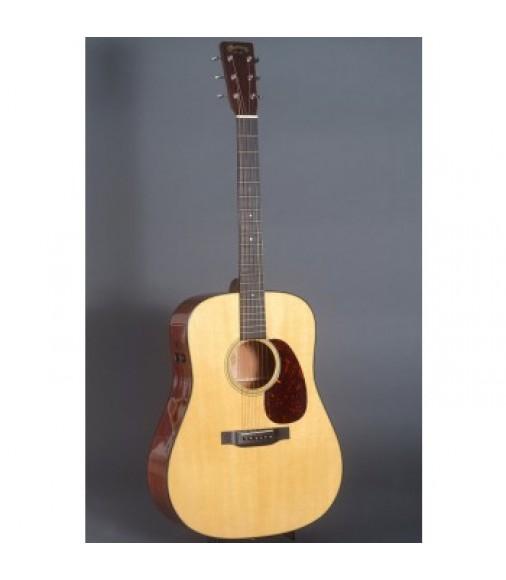 Martin D-18E Retro Guitar with Case, Fishman F1 Aura Plus Pickup