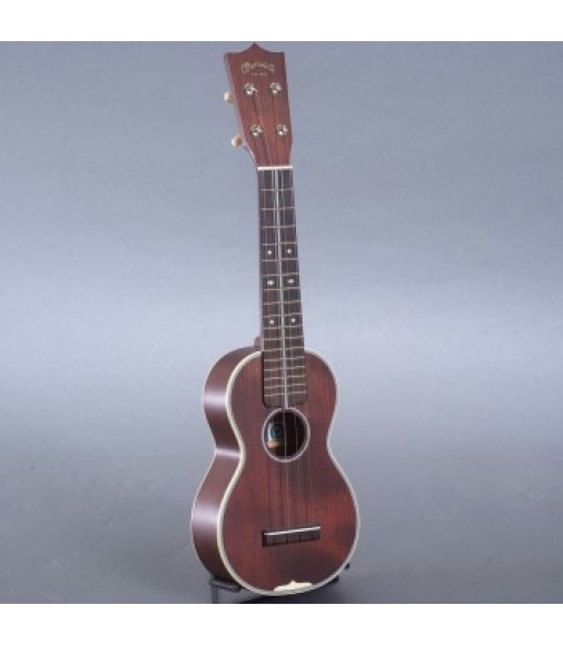 Martin 3 Cherry Uke, Soprano Style 3 Ukulele with Case