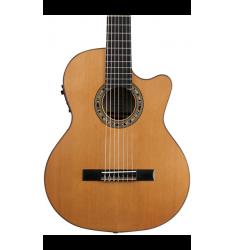 Kremona Fiesta CW-7 Classical Electric Guitar Gloss Natural