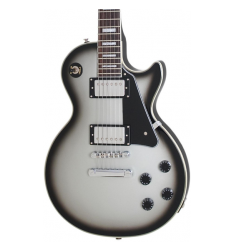 Cibson Limited Edition C-Les-paul Custom PRO Electric Guitar Silver Burst