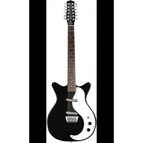 danelectro 12sdc 12 string electric guitar black guitars china online. Black Bedroom Furniture Sets. Home Design Ideas