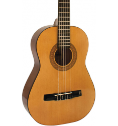 Hohner HC02 1/2 Sized Classical Guitar Package Natural