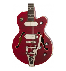 Cibson Wildkat Semi-Hollowbody Electric Guitar with Bigsby