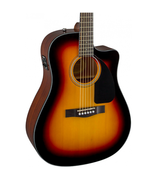 Fender CD60CE Cutaway Dreadnought Acoustic-Electric Guitar