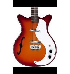 Danelectro 12 String Semi-Hollow Electric Guitar Cherry Sunburst