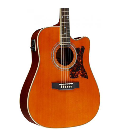 Cibson Masterbilt DR-500MCE Acoustic-Electric Guitar