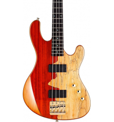 Cort Jeff Berlin Series Rithimic Bass Guitar Natural Rosewood