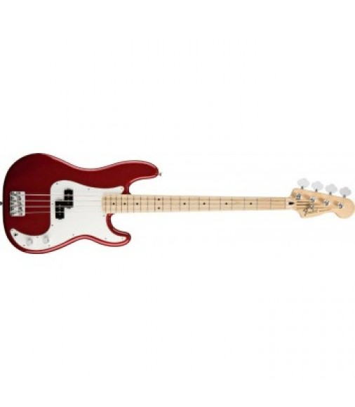 Fender Standard Precision Bass Guitar in Candy Apple Red