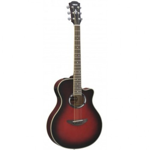 Yamaha Apx500 Mk3 Electro Acoustic Guitar Dusk Sun Red