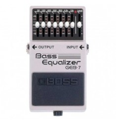 Boss GEB7 Equalizer Bass Guitar Effects Pedal