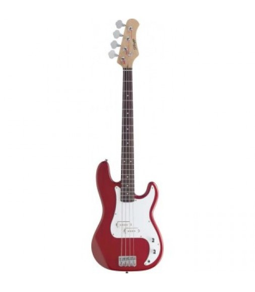 Eastcoast P300 Electric Bass Guitar in Trans Red