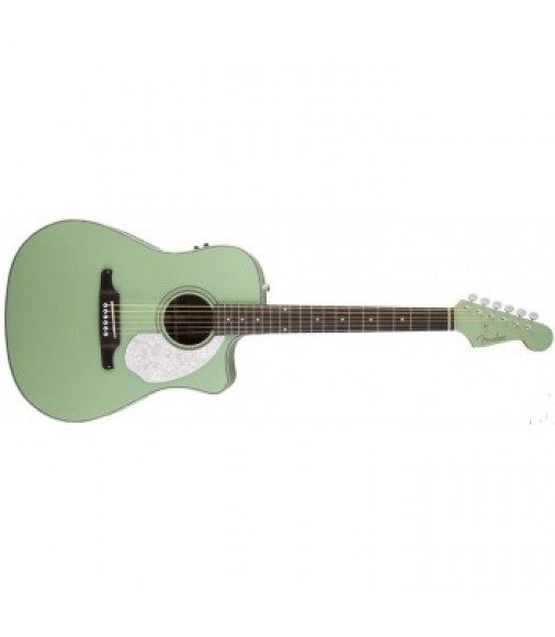 Fender Sonoran SCE Electro Acoustic Guitar Surf Green