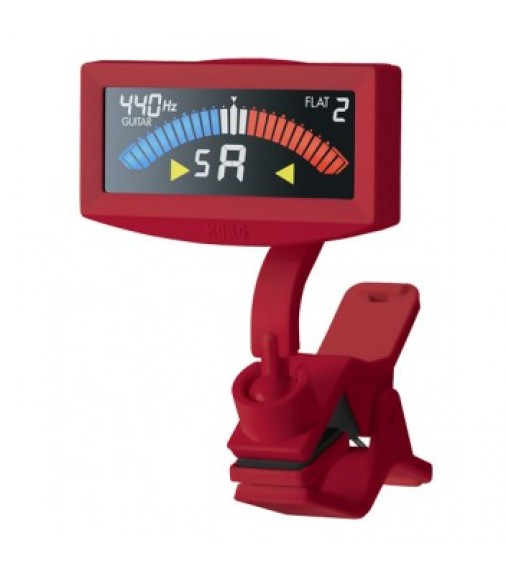 Korg Pitchcrow-G Clip-On Tuner, Red