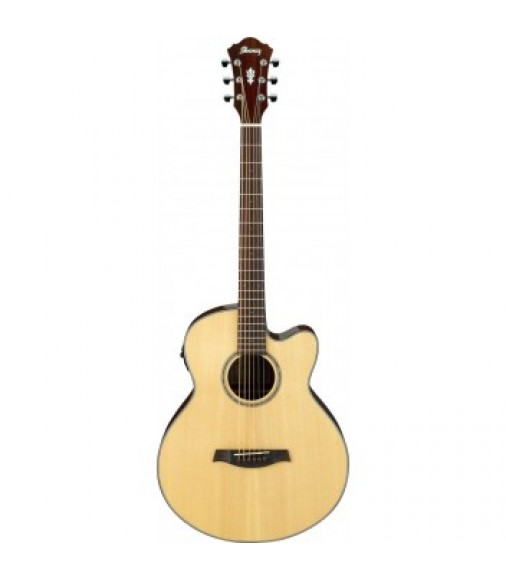 Ibanez AELBT1 Electro Acoustic Baritone Guitar in Natural
