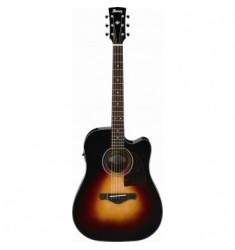 Ibanez AW4000CE Artwood Electro Acoustic in Brown Sunburst