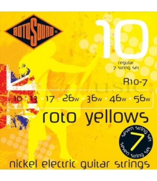 Rotosound Roto R10-7 7 String EG Regular Set 10-56