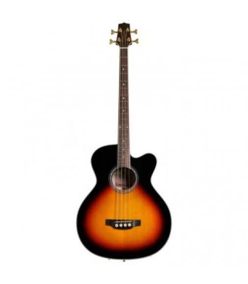 Takamine GB72CE-BSB Electro Acoustic Bass Guitar Brown Sunburst