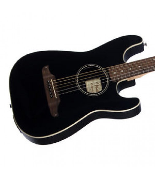 Fender Standard Stratacoustic electric acoustic guitar - Black