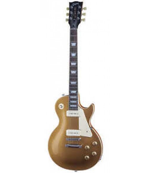 New Cibson Limited Edition C-Les-paul Less Plus P90 P-90 Gold Top Electric Guitar
