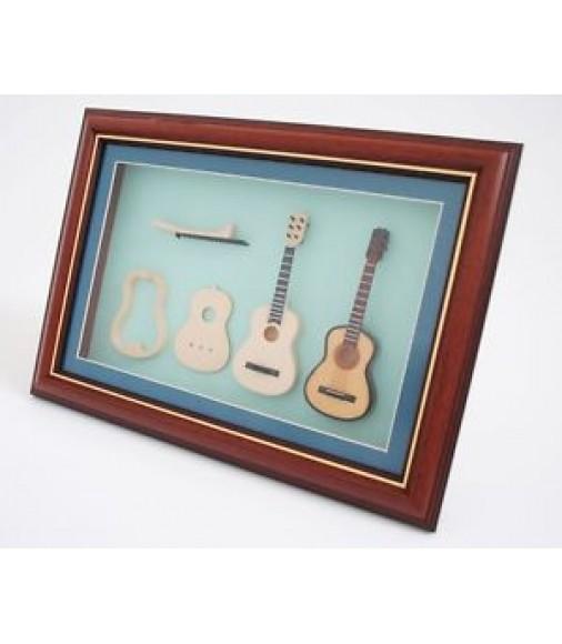 miniature instrument de musique classique guitare construction en cadre photo guitars china online. Black Bedroom Furniture Sets. Home Design Ideas