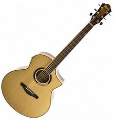 *NEW* Ibanez AEW51 Exotic Tonewood Acoustic Electric Guitar - Natural (A)
