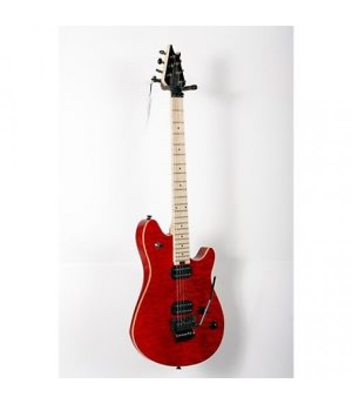 EVH Wolfgang Standard Electric Guitar Trans Red, Maple Fretboard 888365806938