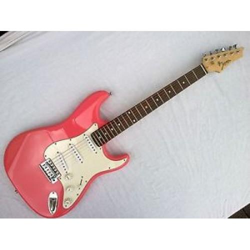 johnson stratocaster electric guitar upgraded tuners emg designed pickups guitars china online. Black Bedroom Furniture Sets. Home Design Ideas