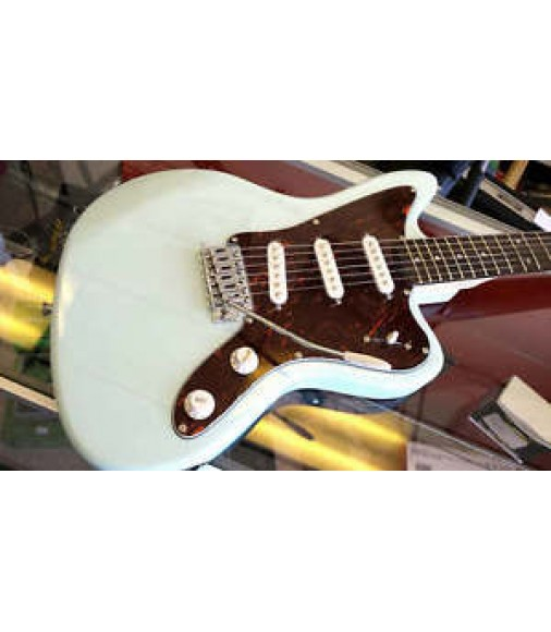 Jay Turser JT JG Jaguar Electric Guitar Vintage Style Sonic Blue