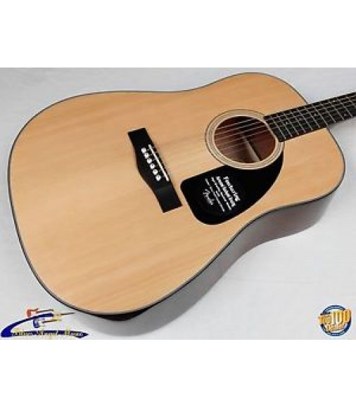 Fender CD-60 Acoustic Guitar, Gloss Finish Spruce / Mahogany w/HSC! NEW! #23828