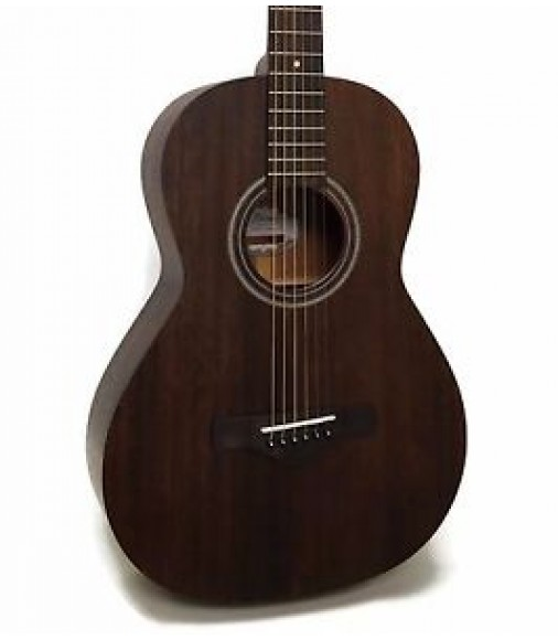 Ibanez AVN2 Artwood Vintage All Solid Mahogany 12th Fret Parlor Acoustic Guitar