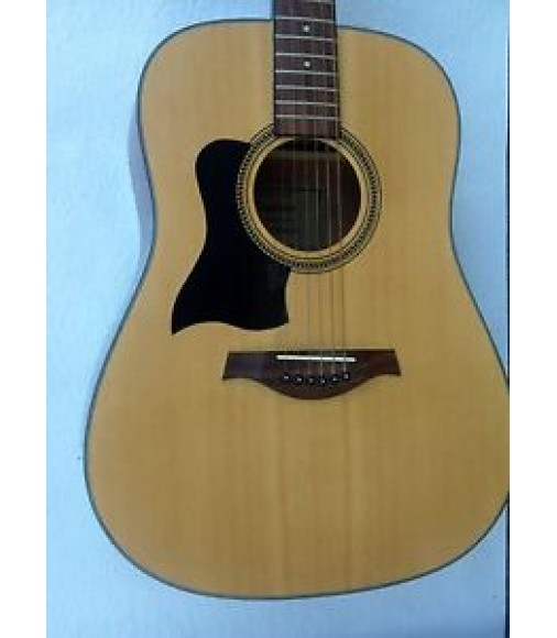 LEFT HANDED TANGLEWOOD TW 28 STEEL STRING ACOUSTIC GUITAR NATURAL FINISH BARGAIN