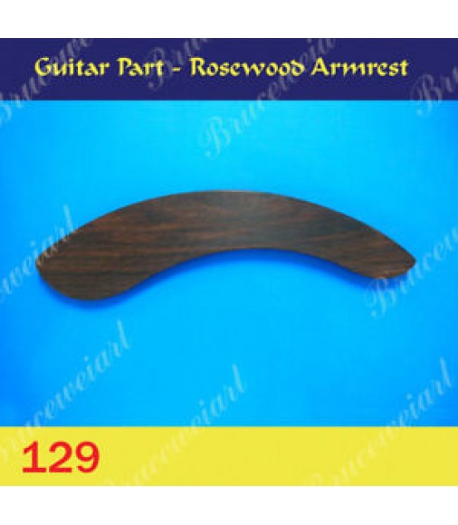 Guitar Part - Rosewood Armrest (129)
