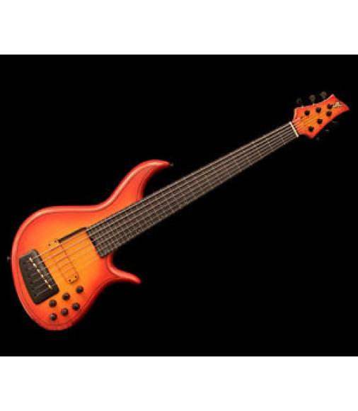 F Bass AC6 VA Alain Caron Signature 6 Strings Fretless Free Shipping