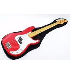 '99  Fender Japan PB-62 Metallic Red Bass Guitar Ref.No 112408
