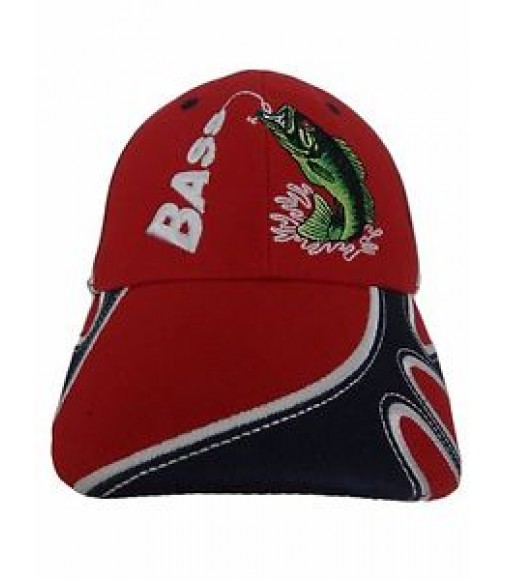 Bass fishing snapback hat embroidered guitars china online for Bass fishing hats