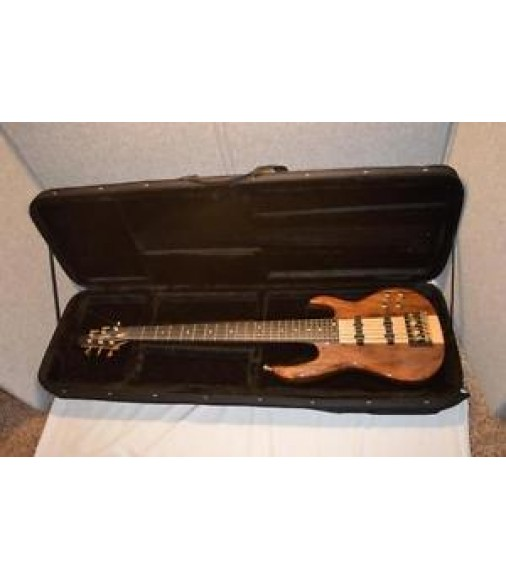VINTAGE 1994 CARVIN LB76 - 6 STRING BASS - WALNUT BODY & MAPLE NECK - EX. PLAYER