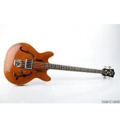 1964 GUILD Starfire Semi-Hollow 4-String Electric Bass Natural w/ Case #25967