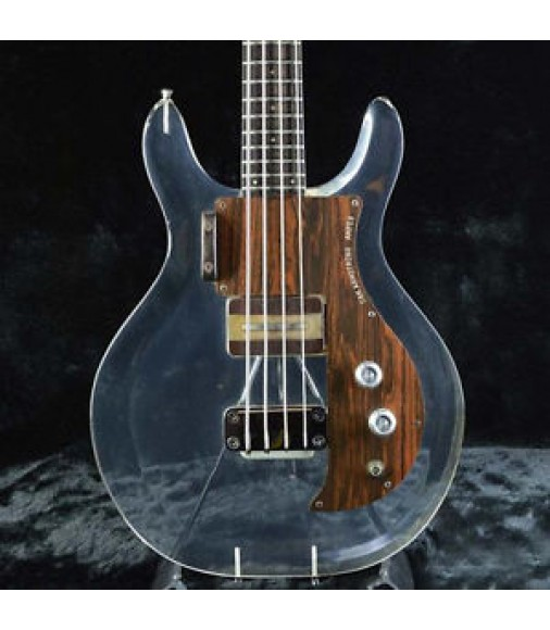 1969 Ampeg Dan Armstrong Lucite Bass Free Shipping Vintage