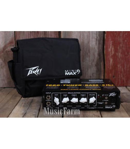 Peavey Mini Max 500 Electric Bass Guitar Amplifier Head 500 Watt Amp Head