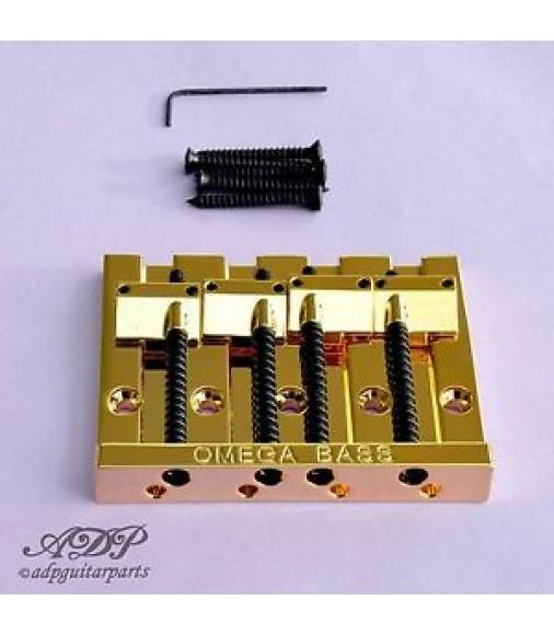 CORDIER CHEVALET BASSE 4 cordes OMEGA BASS BRIDGE 4 strings GOLD BB-3350-002