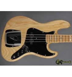 1978 Fender Jazz Bass Bass - Natural Ash Body Maple Neck/ EMG PU´s NEAR MINT!!