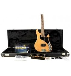2014 Fender American Deluxe Dimension IV 4-String Bass Guitar - Natural w/OHSC
