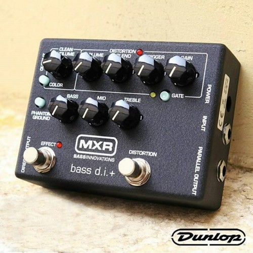 mxr 80 bass di dunlop direct box pedal pre amp with distortion guitars china online. Black Bedroom Furniture Sets. Home Design Ideas