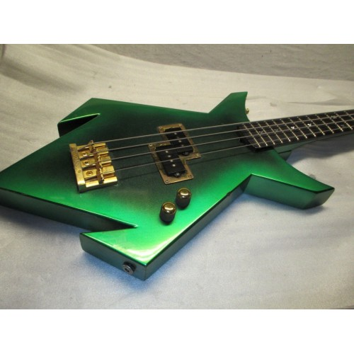 80 S Custom Heavy Metal Spider Bass Made In Usa