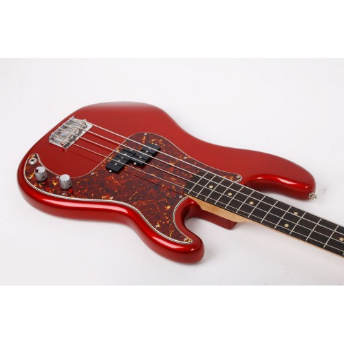 Moollon p classic precision bass 4 string fiesta red for Classic house string sound
