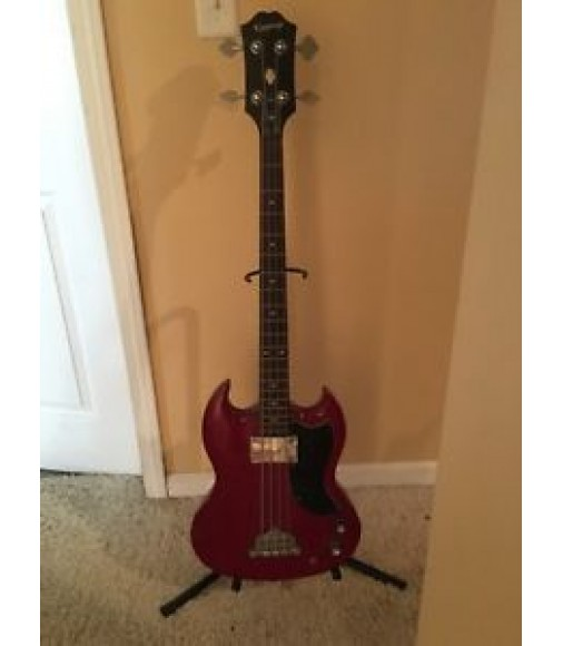 Cibson Cibson 4 String Bass Guitar With Hard Case