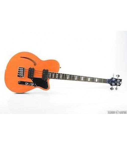 REVEREND Dub-King 4-String Electric Bass Guitar Rock Orange #25971