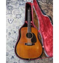 1962 Martin D-18 acoustic guitar Vintage Flattop NATURAL FINISH D18 mahogany