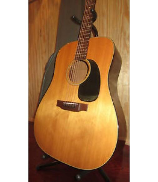 Vintage 1971 Martin D-18 Acoustic Guitar w/ Case Natural Dreadnought Clean!!